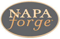 These Wrought iron Fireplace and Hearth Products are made by the skilled artisans at Napa Forge