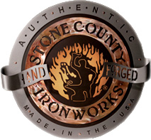 This Product is made by the skilled artisans at Stone County Ironworks