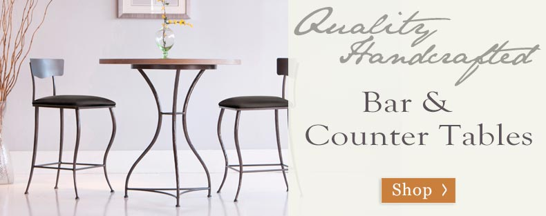 Shop Bar and Counter Height Tables for Casual Entertaining