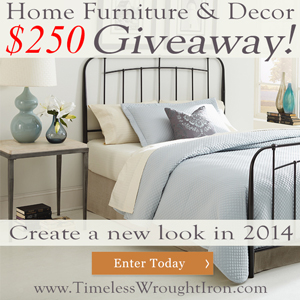 Click on this image to enter our $250 Giveaway.