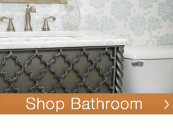 Shop iron bathroom hardware from TimelessWroughtIron.com including vanity bases, mirrors, towel holders and much more.