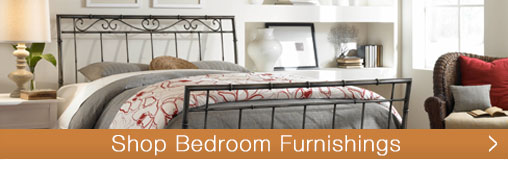 Shop from hundreds of bedroom furnishing options at TimelessWroughtIron.com