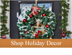 Celebrate the Christmas Holiday in style with decorative iron holiday accents