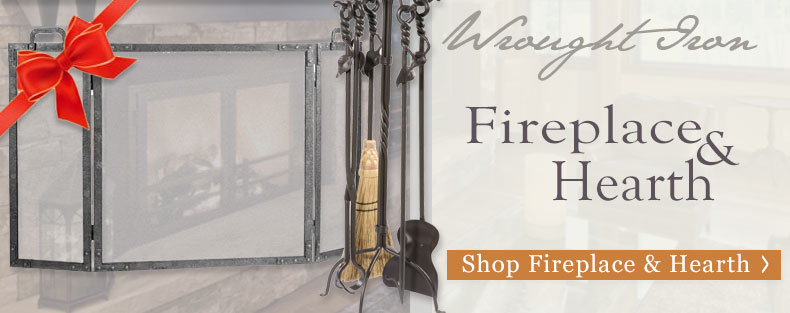 Shop all Iron Fireplace and Hearth accessories from Timeless Wrought Iron