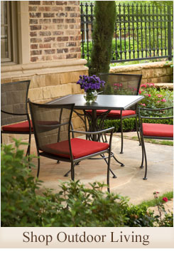 Click on this image to shop our line of outdoor living furniture and accessories.