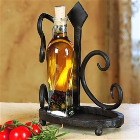 Wrought Iron Siena Dispenser Holder by Bella Toscana