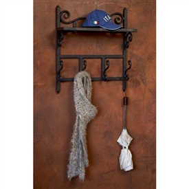 Wrought Iron Siena Coat Rack by Bella Toscana