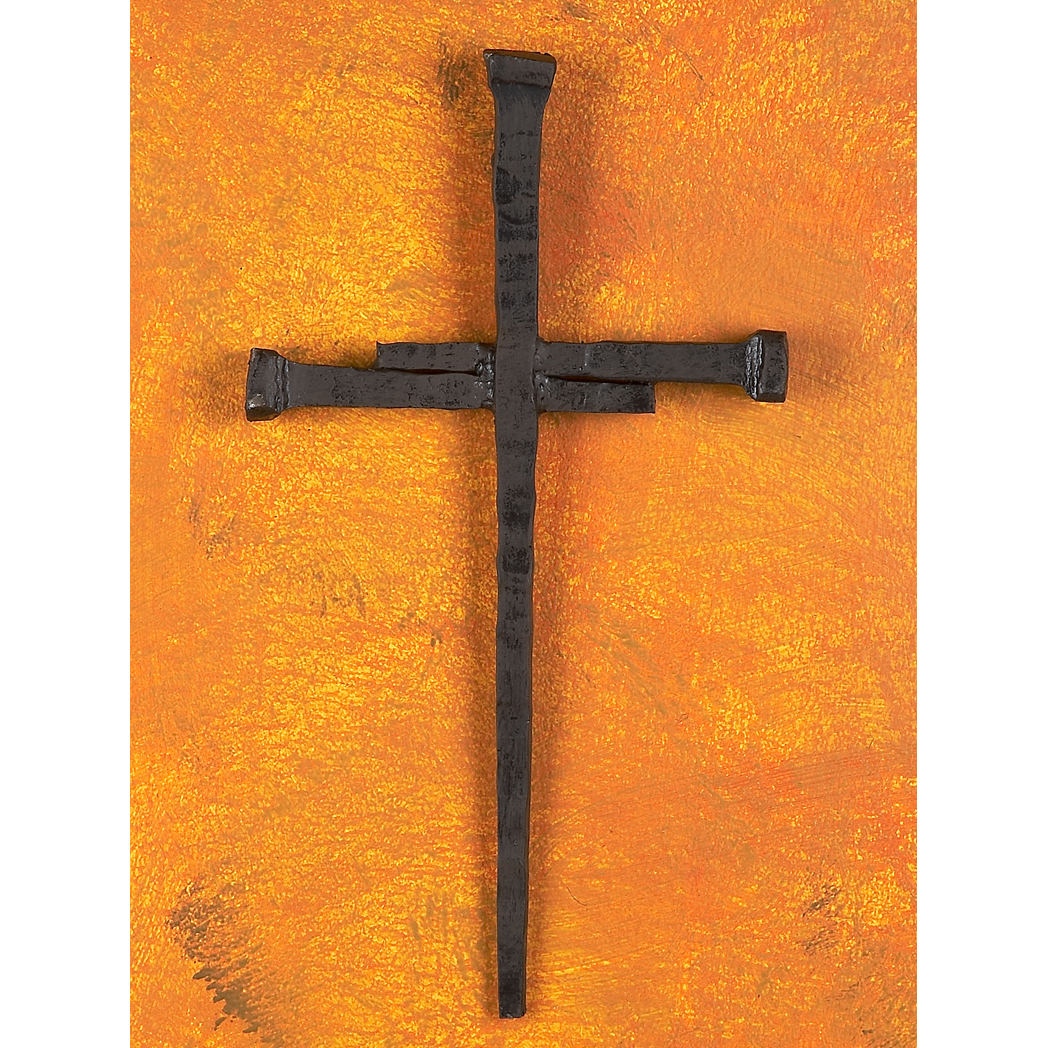 wrought iron spike cross by bella toscana