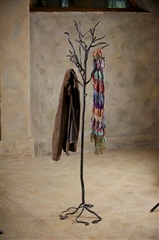 Wrought Iron Twig Floor Coat Rack