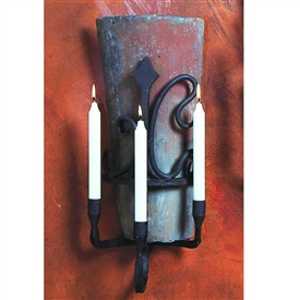 Wrought Iron Siena Tile Sconce - Set of 2 by Bella Toscana