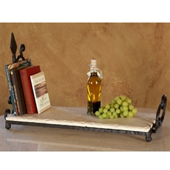 Wrought Iron Siena Bookshelf by Bella Toscana