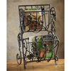Wrought Iron Vineyard Magazine Rack by Bella Toscana