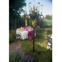 Wrought Iron Floor Candelabra by Bella Toscana