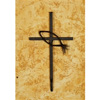 Wrought Iron Fish Wall Cross - Large by Bella Toscana