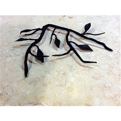 Wrought Iron Fruitwood Trivet by Bella Toscana
