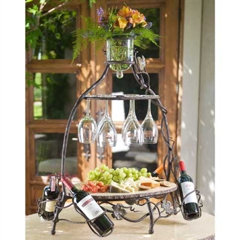Wrought Iron Celebration Server by Bella Toscana