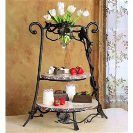 Wrought Iron Event Server by Bella Toscana
