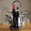 Wrought Iron Vineyard Wine Caddy by Bella Toscana