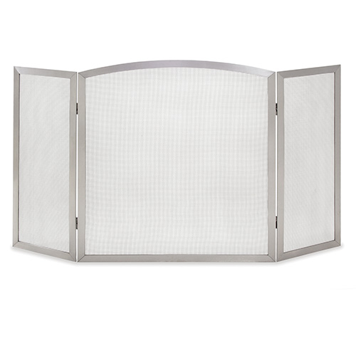 pictured here is the newport stainless steel 3 panel