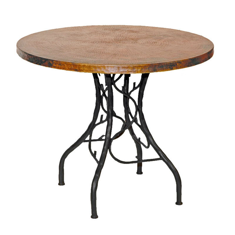 Pictured here is the South Fork Bistro Table with 36  : TWI 20 152P 2 from www.timelesswroughtiron.com size 800 x 800 jpeg 159kB