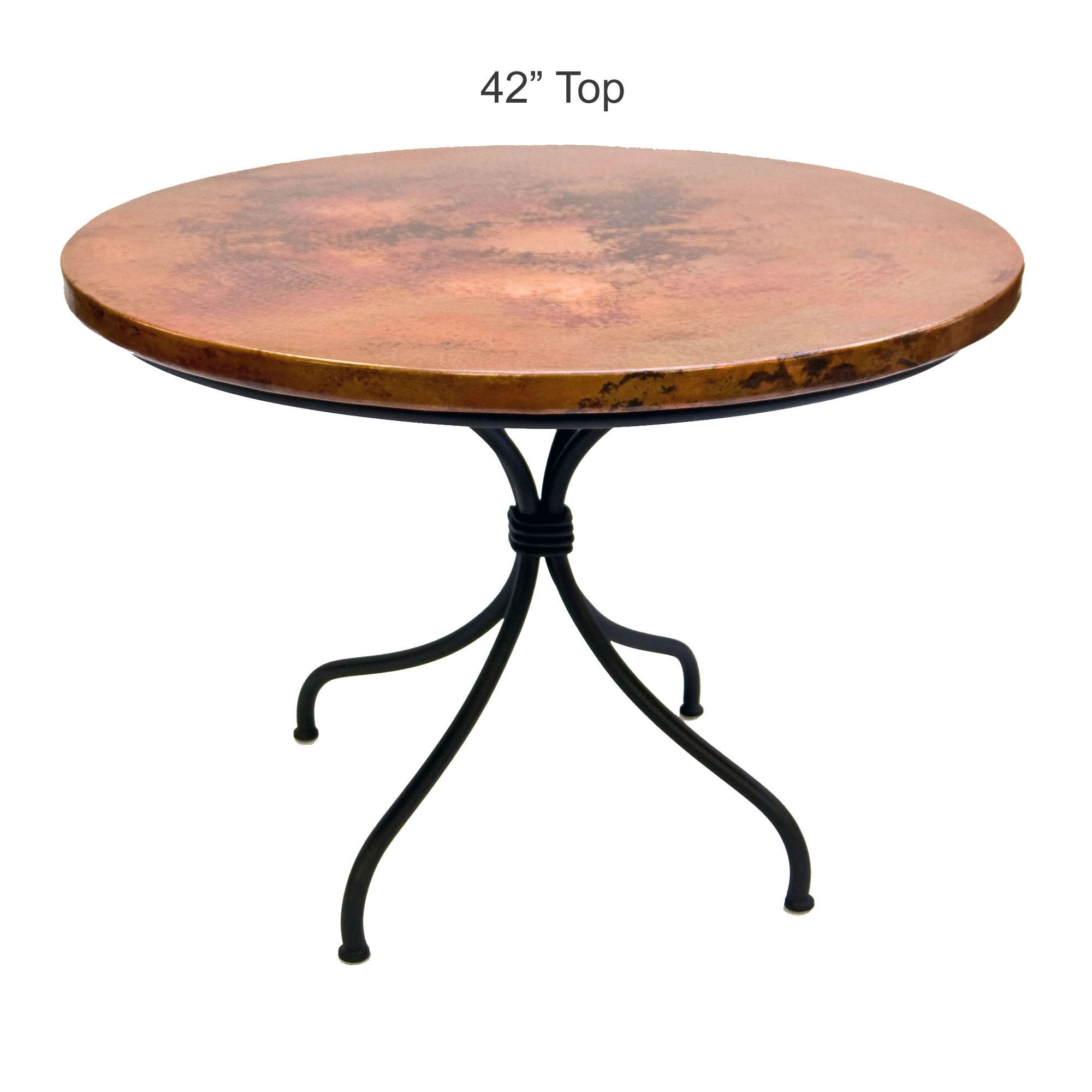 Pictured Here Is The Italia Dining Table With 42 Round Top Hand