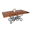 Wrought Iron Alexander Dining Table by Mathews & Co.