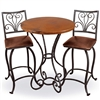 "Wrought Iron Alexander 36"" Counter Table by Mathews & Co."