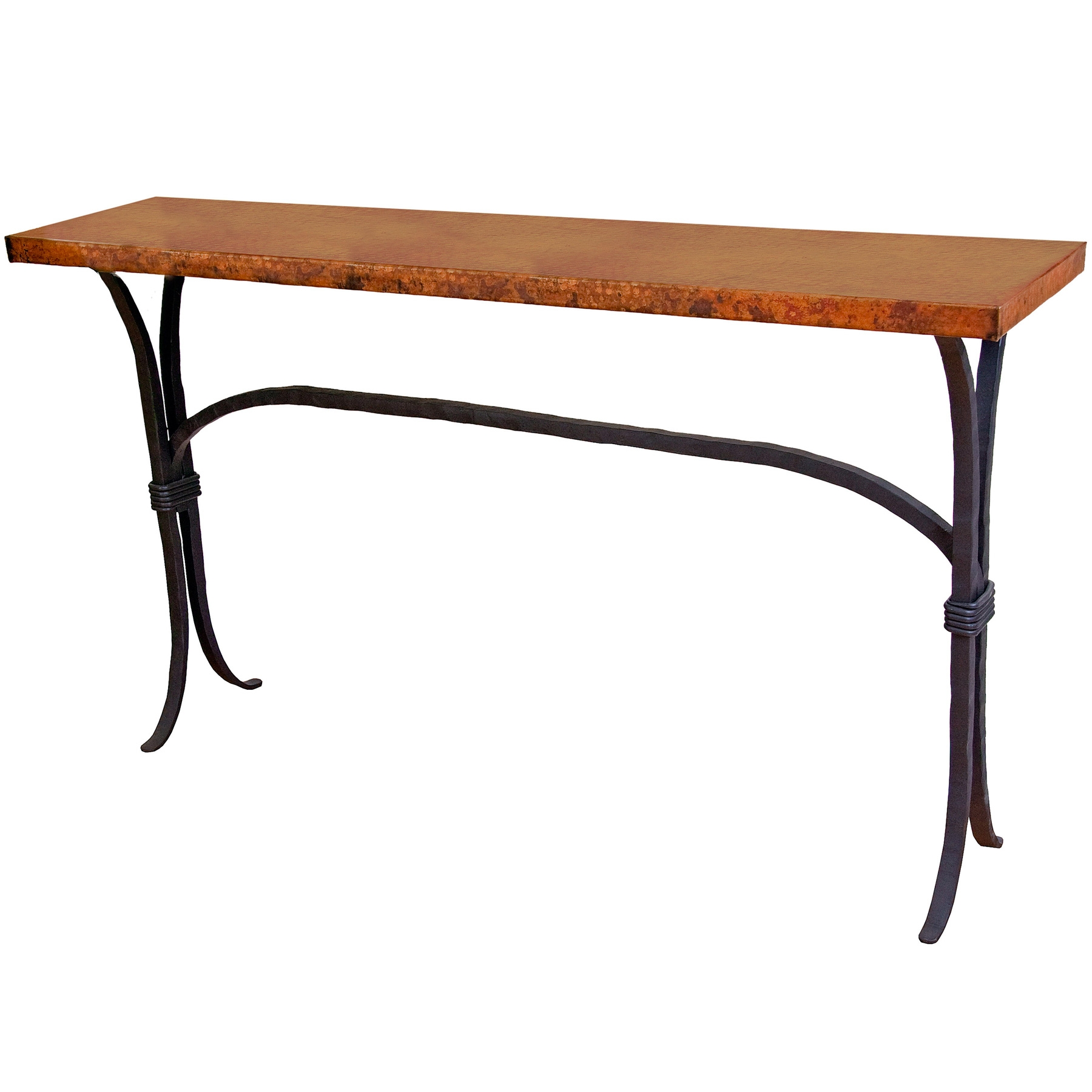 Iron Console Table : Pictured here is the Salisbury Console Table with 60