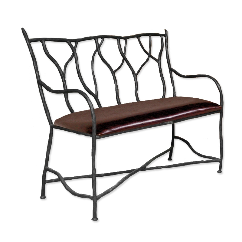 Pictured Is Our South Fork Bench Hand Forged By Artisan Blacksmiths