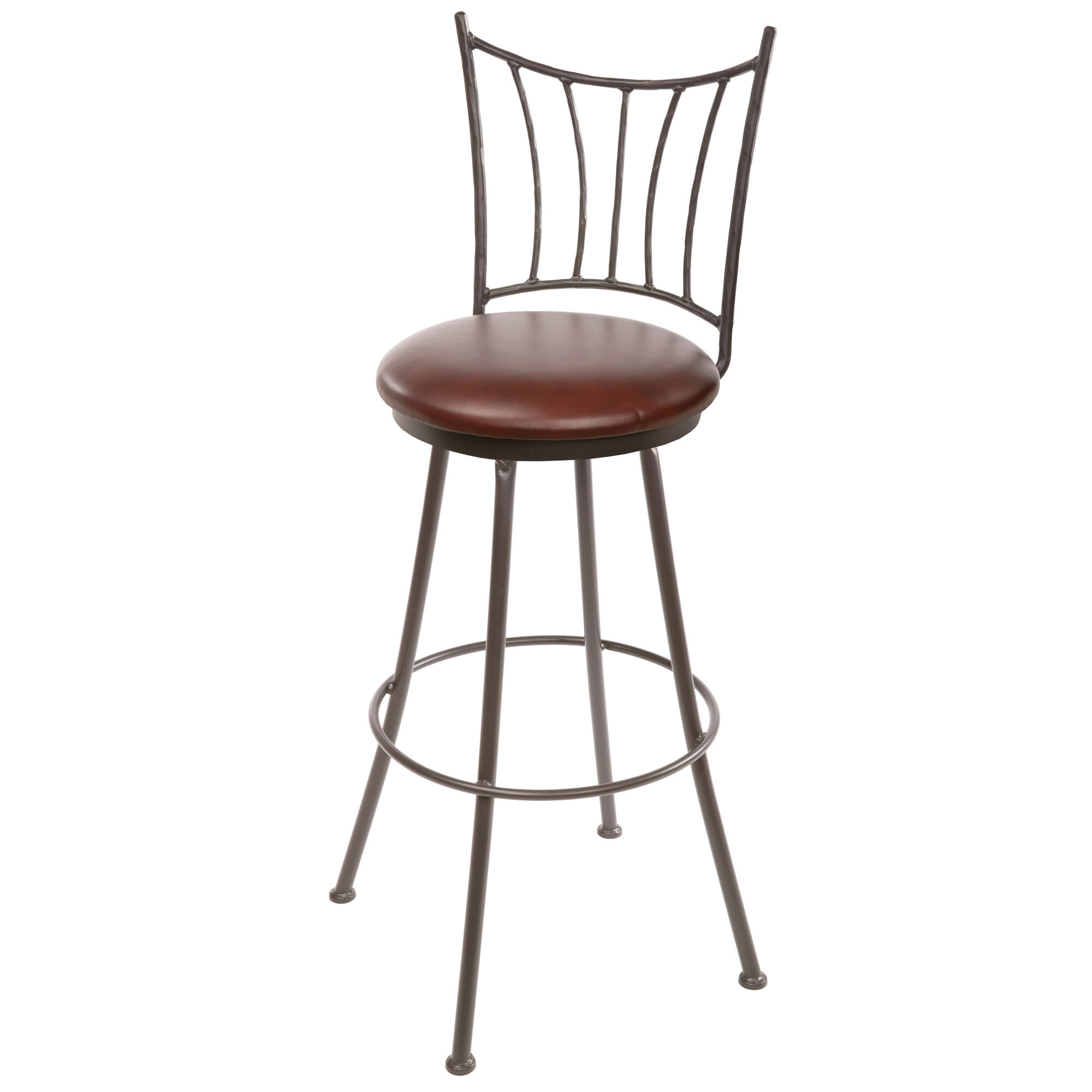 Ranch Wrought Iron Counter Stool 25 in Seat Height : TWI 30 075 2 from timelesswroughtiron.com size 2000 x 2000 jpeg 279kB