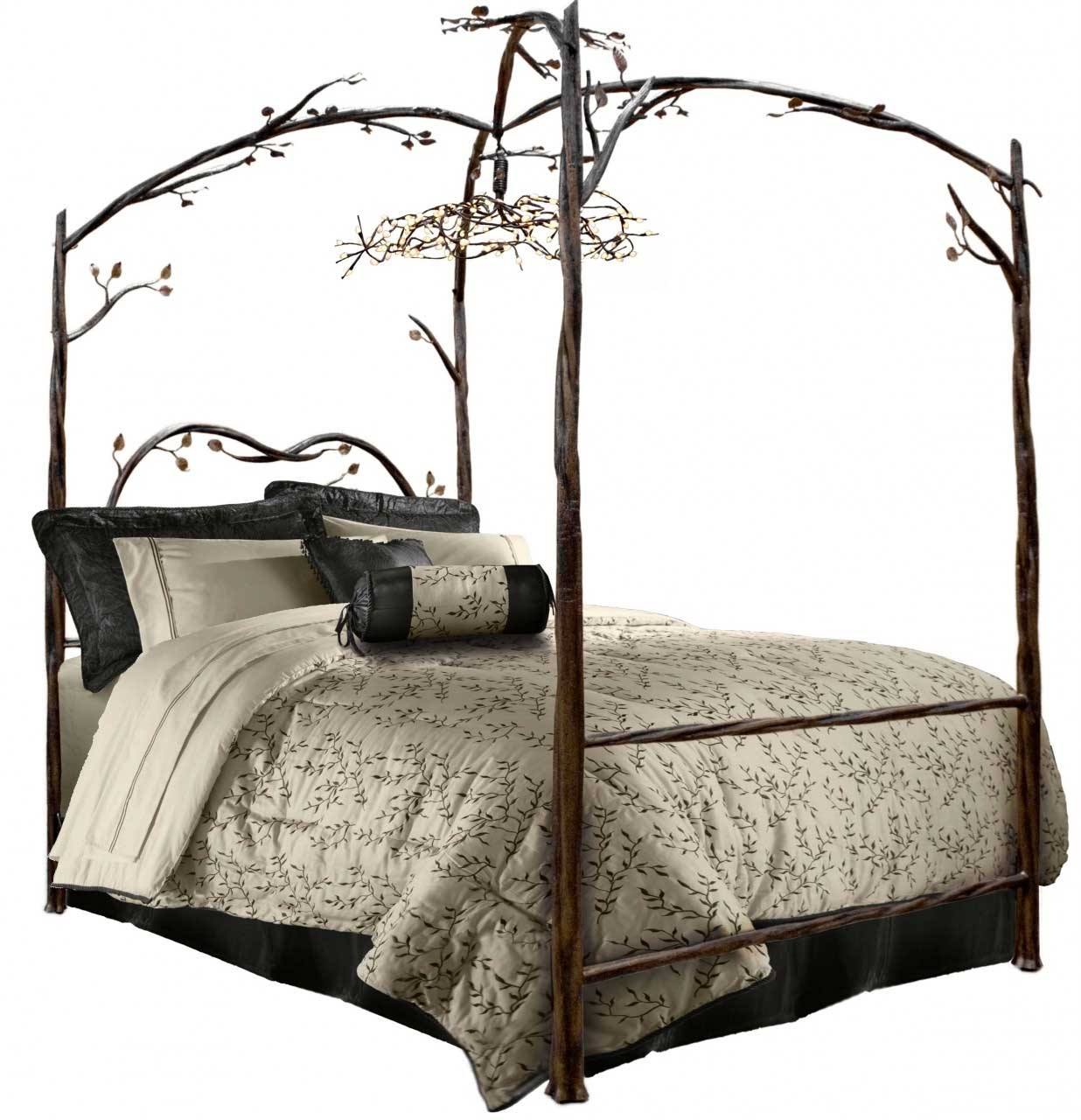 enchanted forest canopy bed iron canopy bed timeless