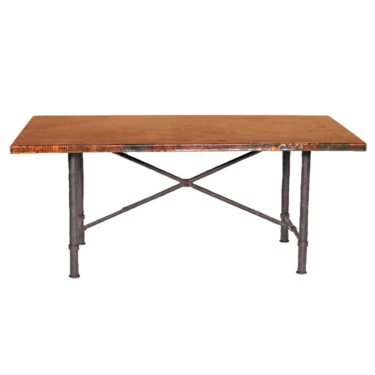 Pictured Here Is The Burlington Dining Table Base Only Hand Crafted By Skilled Artisan Blacksmiths