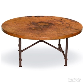 Wrought Iron Burlington Coffee Table by Mathews & Co.