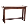 Pictured is the High Country Small Console by Charleston Forge, sold online at Timeless Wrought Iron
