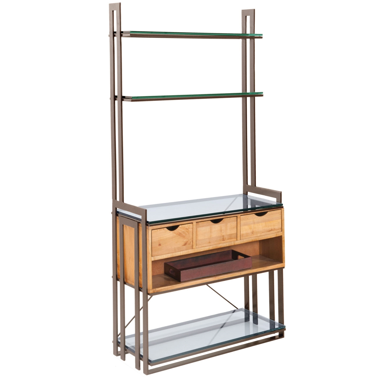 pictured here is the wentworth 3 drawer bakers rack in