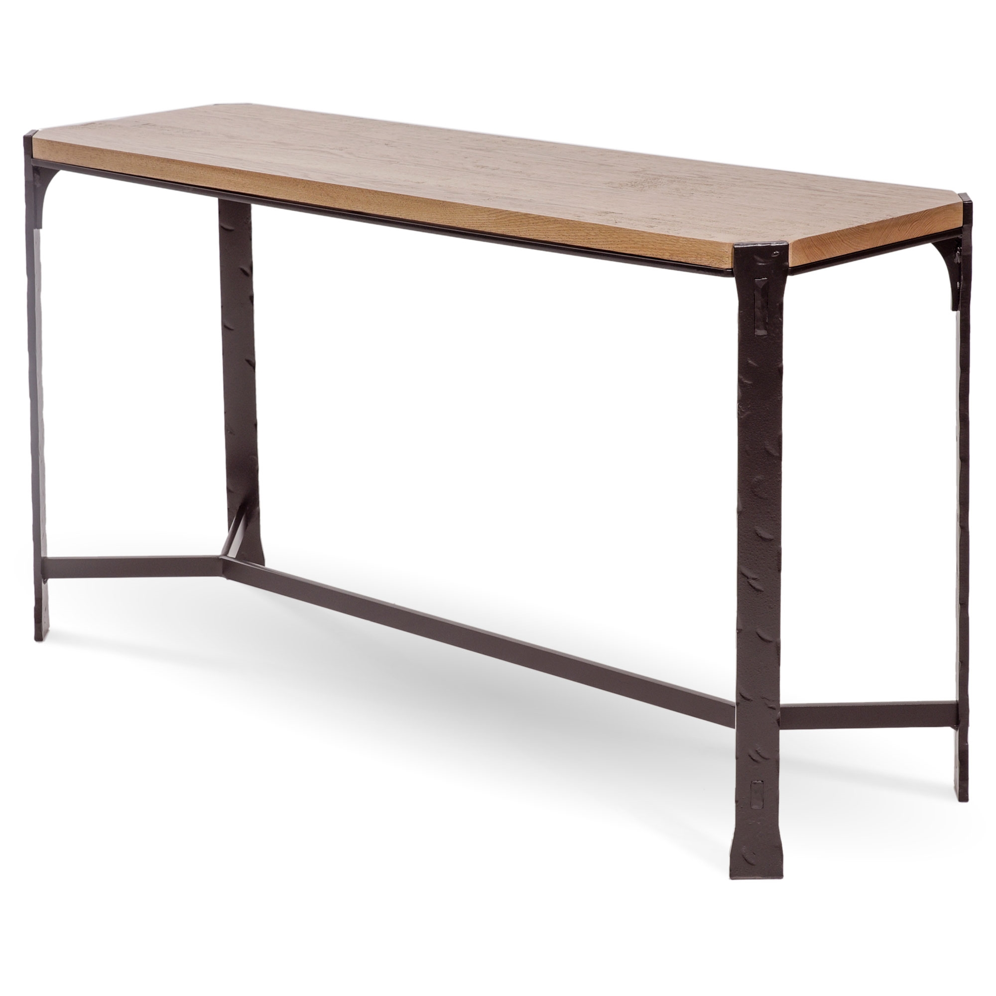 Pictured Here Is The Woodland Console Table With A