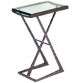 Wrought Iron Metro Drink Table by Charleston Forge