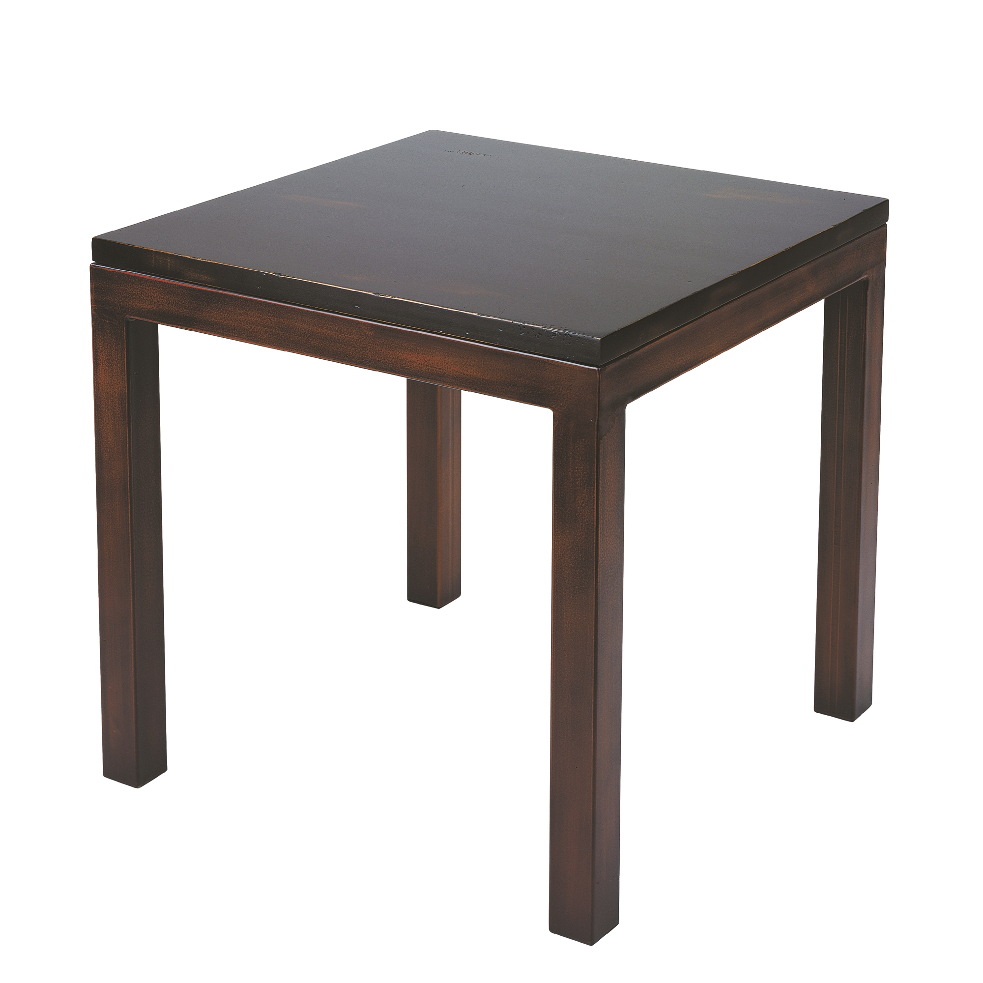 Pictured Here Is The Forged Iron Parsons End Table