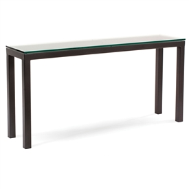 "Wrought Iron Parsons 60"" Console by Charleston Forge"