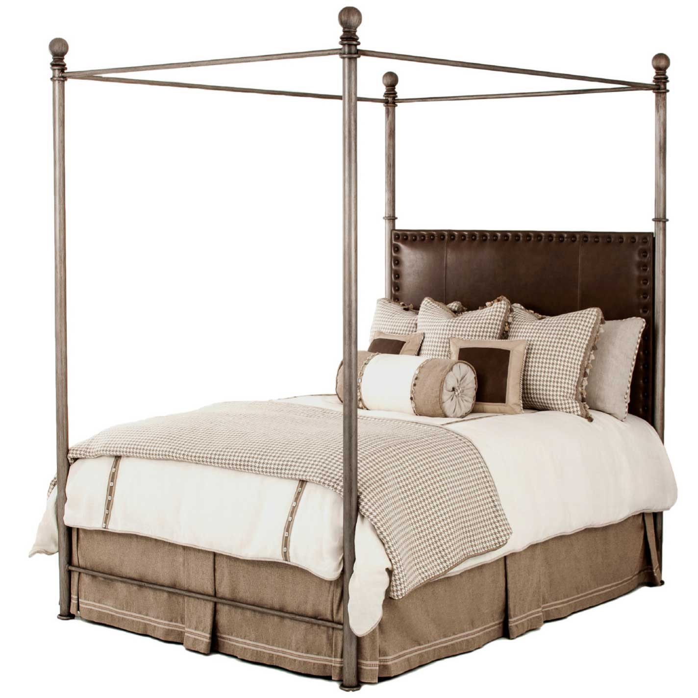 pictured here is the luxurious davant canopy bed with