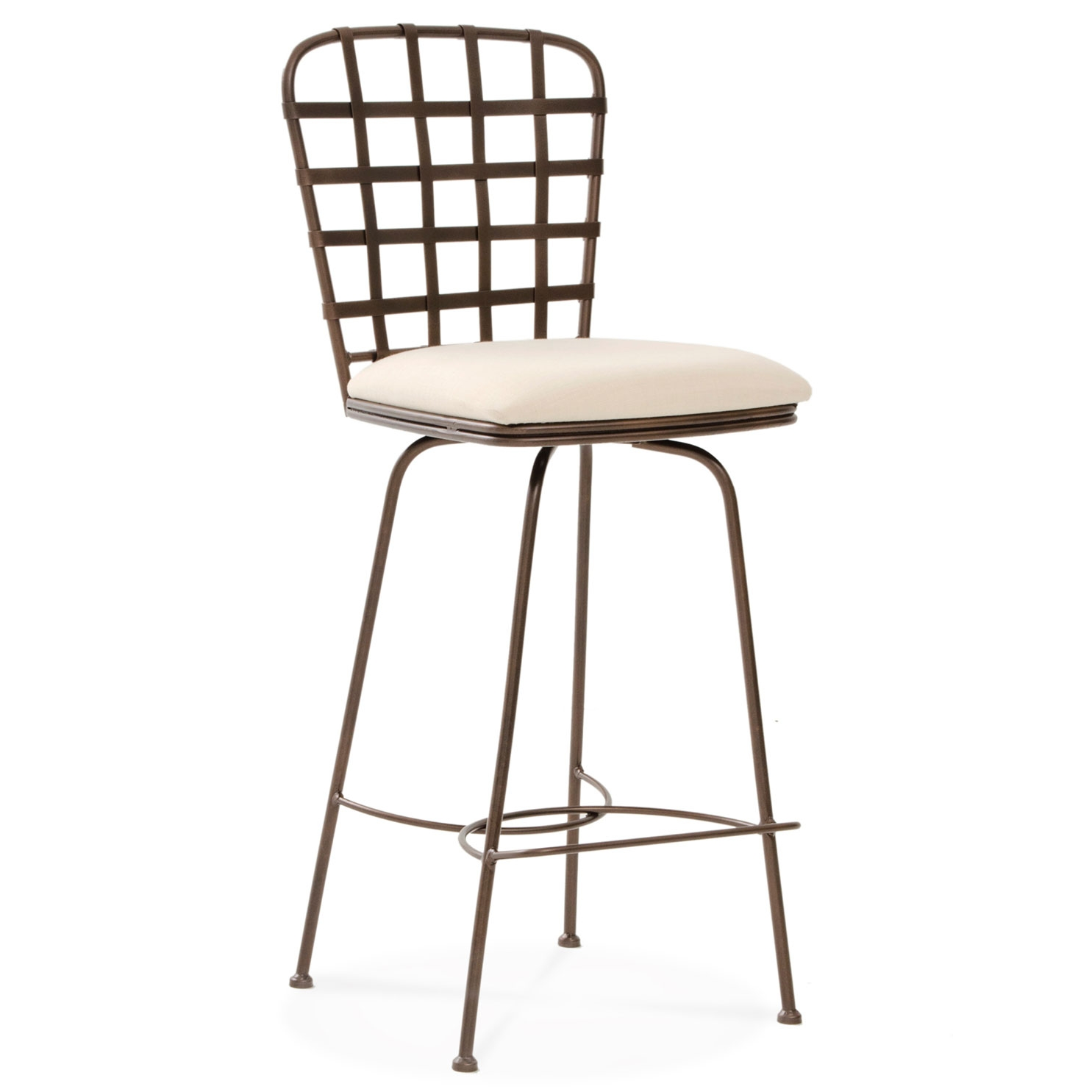 Manchester Swivel Bar Stool 30 In Seat Height