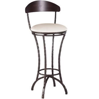 Hudson Swivel Counter Stool 26 In Seat Height