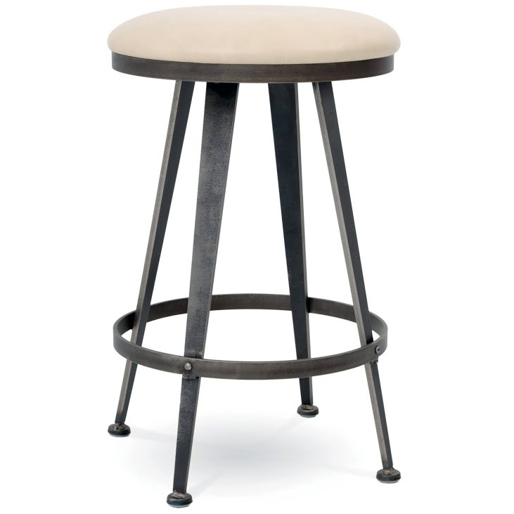 Pictured Here Is The Aries Swivel Backless Counter Stool