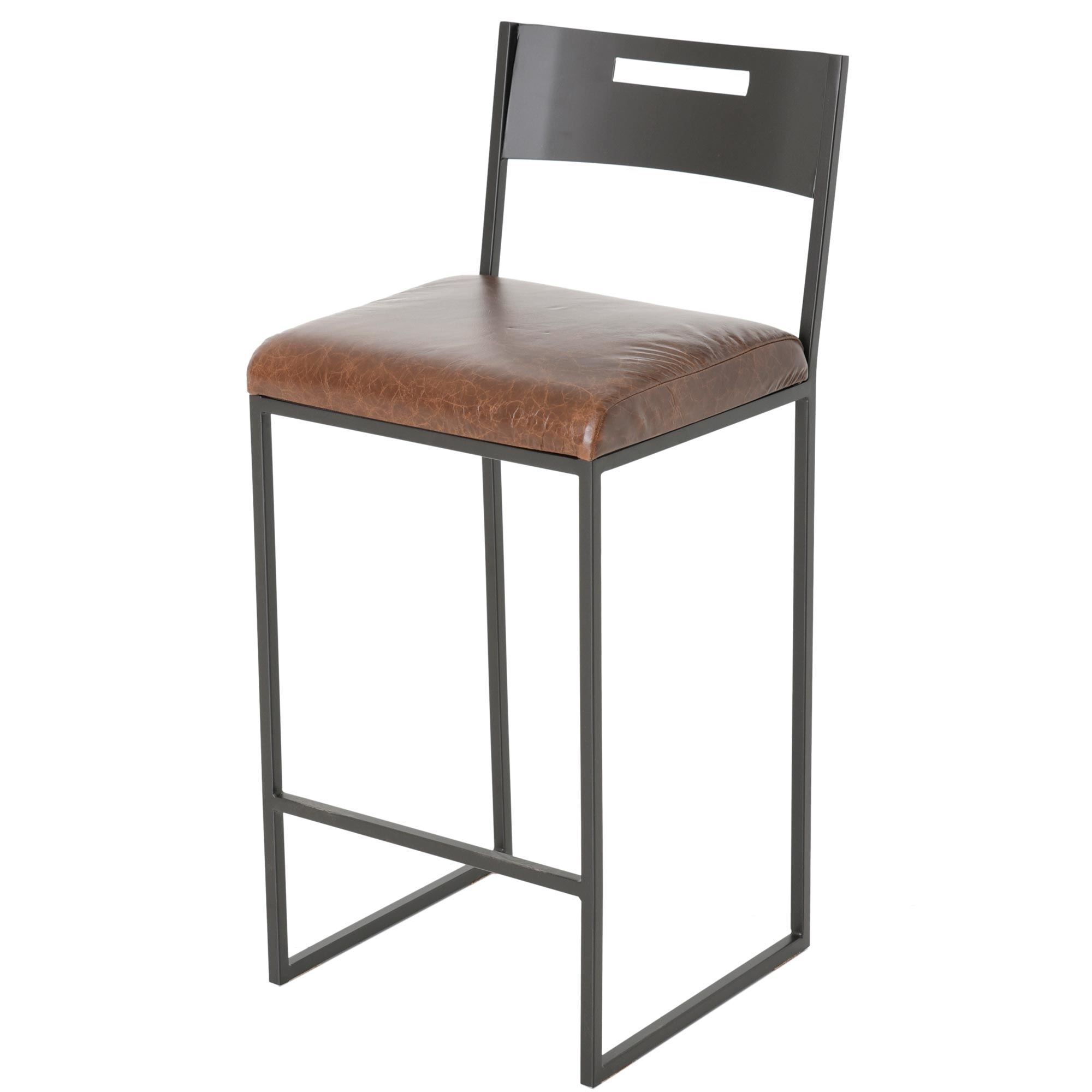 Pictured here is the astor counter stool with a 26 inch Counter seating