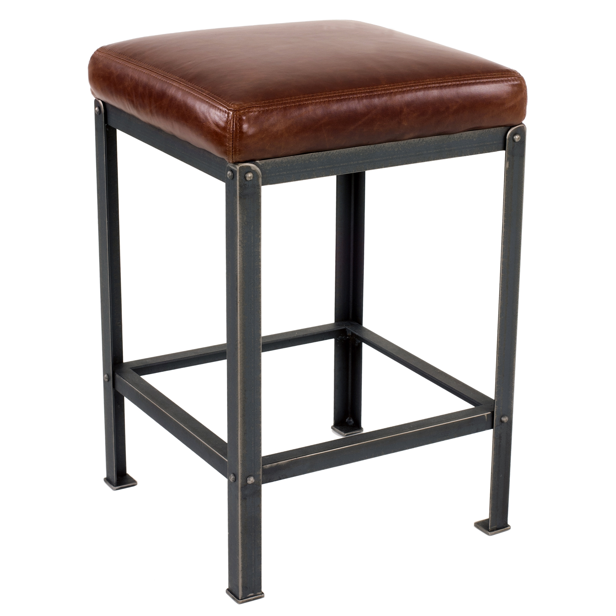 Wrought Iron Warehouse Backless Counterstool 26 Quot By