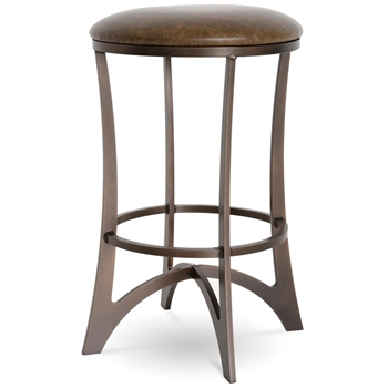 Lotus Swivel Bar Stool Charleston Forge