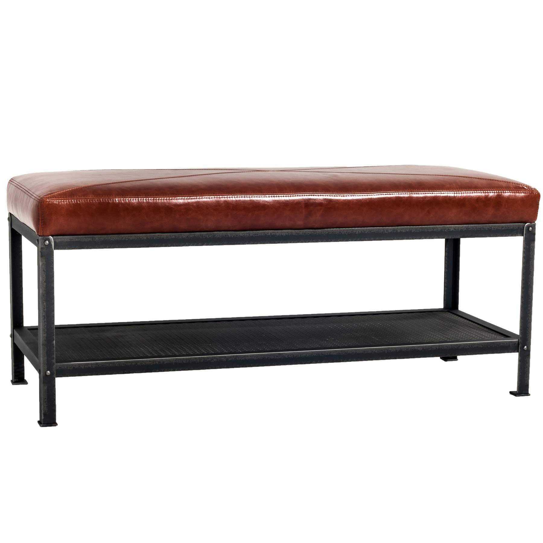 Industrial Warehouse Bench By Charleston Forge W 47 X D 18 5 X H 19 5