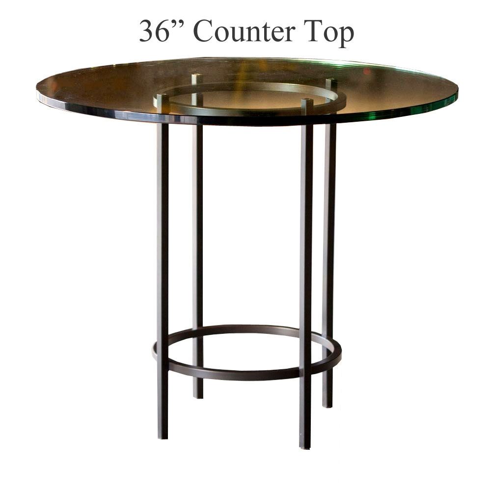 helios counter height table with 36 in top. Black Bedroom Furniture Sets. Home Design Ideas