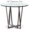 Forrest Bar Height Table with 36in. Diameter Top By Charleston Forge