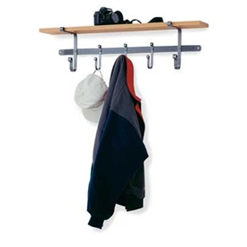 Enclume Shelf Coat Rack